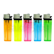 "DISPOSABLE LIGHTER 3"" CHILD RESISTANT ASSORTED COLORS Pack of 6"