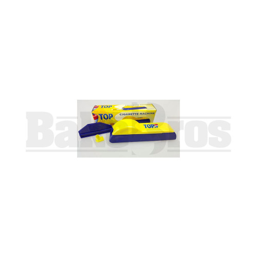 TOP PREMIUM CIGARETTE INJECTOR BLUE YELLOW Pack of 1 70MM