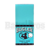 BUGLER CIGARETTE PAPERS 50 LEAVES UNFLAVORED Pack of 6