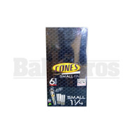 CONES ROLLING PAPERS SMALL 1 1/4 UNFLAVORED Pack of 1
