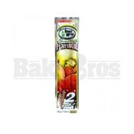 DOUBLE!! PLATINUM CIGAR WRAPS 2 PER PACK STARWBERRY KIWI Pack of 1