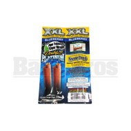 DOUBLE!! PLATINUM XXL CIGAR WRAPS 2 PER PACK BLUEBERRY Pack of 1