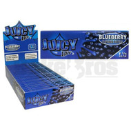JUICY JAY'S FLAVORED PAPERS 32 LEAVES 1 1/4 BLUEBERRY Pack of 1