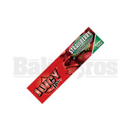 JUICY JAY'S FLAVORED PAPERS 32 LEAVES KINGSIZE STRAWBERRY Pack of 6