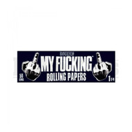 MY F'ING ROLLING PAPERS 1 1/4 50 LEAVE UNFLAVORED Pack of 6