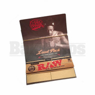 RAW WIZ KHALIFA LOUD PACK ROLLING PAPERS TRAY TIP SLIM KING SIZE UNFLAVORED Pack of 1