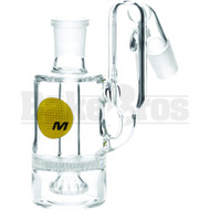 Maverick Ashcatcher Honeycomb Showerhead Recycler Bodybowl 45* Angle Clear Male 14mm