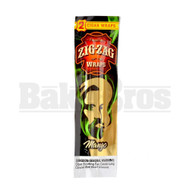 ZIG ZAG CIGAR WRAPS 2 PER PACK MANGO Pack of 1