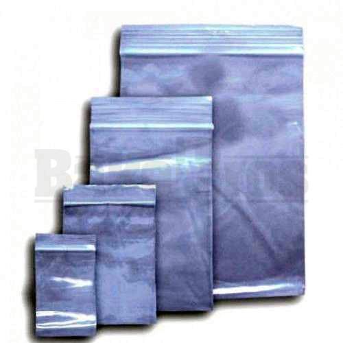 "APPLE BAGS BAGGIES 3434 3/4"" x 3/4"" CLEAR Pack of 1 100 Per Pack"