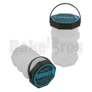 COOKIES HARVEST CLUB JARS BY GOODLIFE 3X STACKED JARS CLEAR Pack of 1