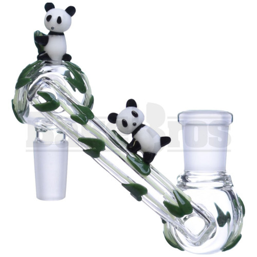 EMPIRE GLASSWORKS MALE TO FEMALE DROPDOWN ADAPTER BAMBOO PANDA FAM CUSTOM FEMALE 14MM 14MM MALE