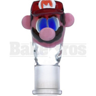DOME SUPER VIDEO GAME BROTHERS ITALIAN AMERICAN PLUMBERS RED 18MM
