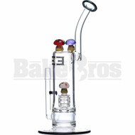 "EMPIRE GLASSWORKS WP SHERLOCK ESCORT RIG W/ MUSHROOM PERC 11"" ASSORTED MALE 14MM"