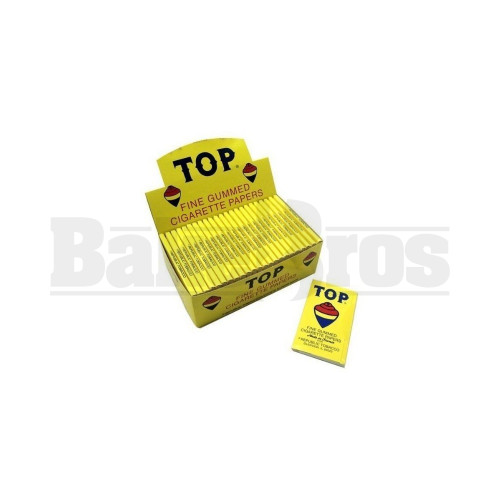 TOP ROLLING PAPERS SINGLE WIDE 100 LEAVES UNFLAVORED Pack of 6