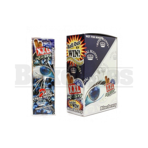 XXL ROYAL BLUNTS K SERIES CIGAR WRAPS 2 PER PACK BLUEBERRY Pack of 1