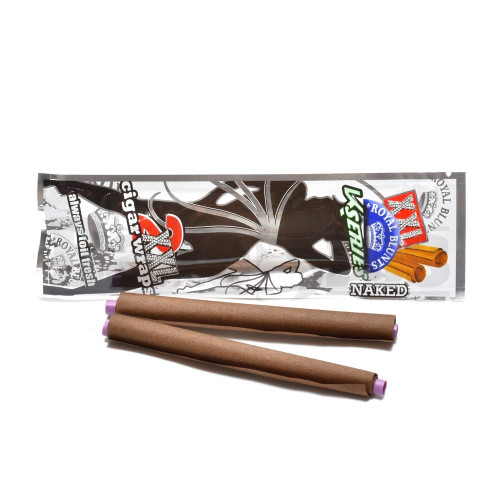 XXL ROYAL BLUNTS K SERIES CIGAR WRAPS 2 PER PACK KUSH NAKED Pack of 1