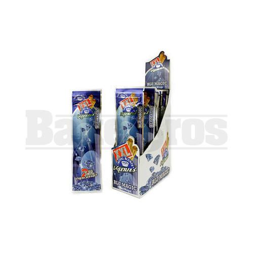 XXL ROYAL BLUNTS K SERIES CIGAR WRAPS 2 PER PACK BLUE MAGIC Pack of 15