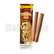 ZIG ZAG CIGAR WRAPS 2 PER PACK PEACH Pack of 6