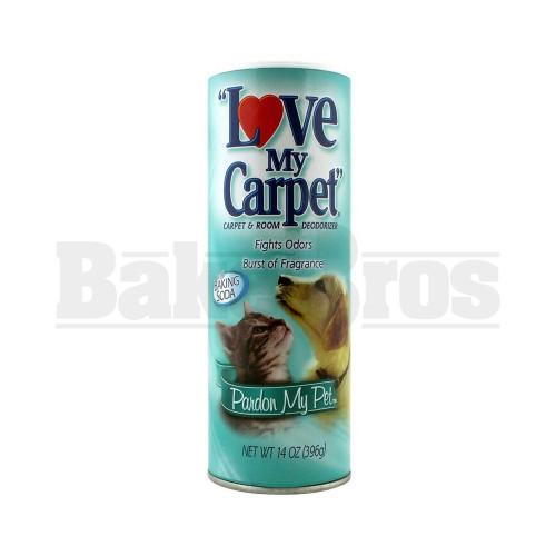 LOVE MY CARPET STASH CAN SAFETY DIVERSION SECRET COMPARTMENT PARDON MY PET 14 OZ