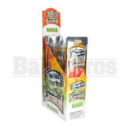 DOUBLE!! PLATINUM CIGAR WRAPS 2 PER PACK MANGO Pack of 25