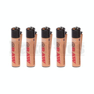 "CLIPPER LIGHTER 3"" RAW NATURAL Pack of 6"