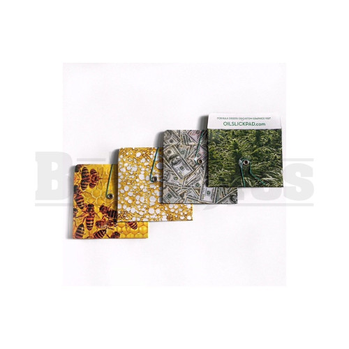 "OIL SLICK SLICK PACK-IT PACKET 4"" X 3"" BALLER SERIES Pack of 1 4 Per Pack"