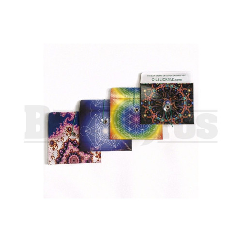 "OIL SLICK SLICK PACK-IT PACKET 4"" X 3"" GEO SERIES Pack of 1 4 Per Pack"
