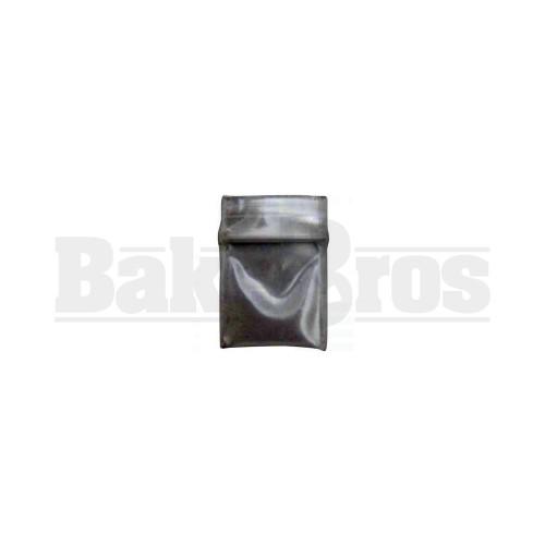 "APPLE BAGS BAGGIES 5858 5/8"" x 5/8"" CLEAR Pack of 10 1000 Per Pack"