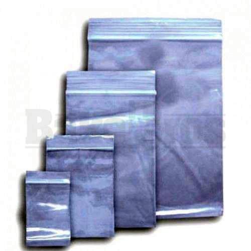 "APPLE BAGS BAGGIES 1010 1"" x 1"" CLEAR Pack of 10 1000 Per Pack"