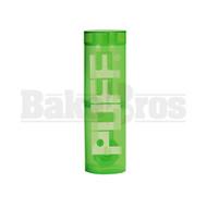 """PUFF WP TRAVELER PORTABLE BUBBLER BOTTLE GLASS ON PLASTIC COMPLETE KIT 8"""" GREEN FEMALE 10MM"""