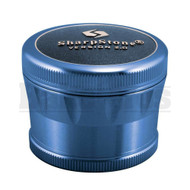 "SHARPSTONE 2.0 HARD TOP GRINDER 4 PIECE 2.5"" BLUE Pack of 1"