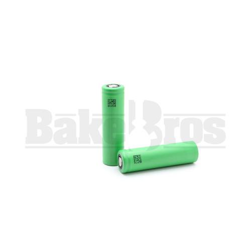 SONY VTC4 18650 BATTERY 3.7V 2100MAH / 2 BATTERIES GREEN