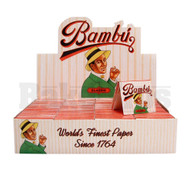 BAMBU PURE HEMP CIGARETTE PAPER UNFLAVORED Pack of 50