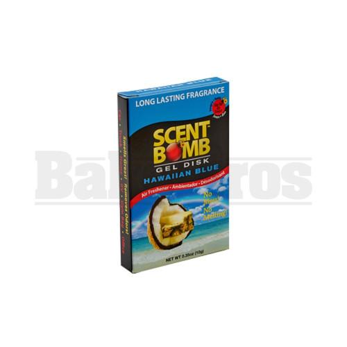 SCENT BOMB GEL DISK Pack of 1 HAWAIIAN BLUE