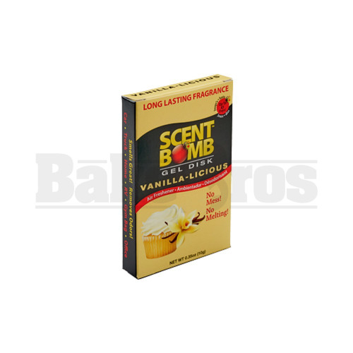SCENT BOMB GEL DISK Pack of 1 VANILLA-LICIOUS