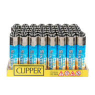 "CLIPPER LIGHTER 3"" ELEMENTS ASSORTED Pack of 48"