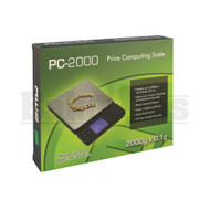 AWS PRICE COMPUTING SCALE PC SERIES 0.1g 2000g BLACK