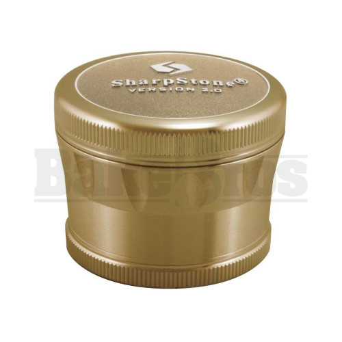 "SHARPSTONE 2.0 HARD TOP GRINDER 4 PIECE 2.2"" BRONZE Pack of 1"