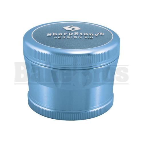 """SHARPSTONE 2.0 HARD TOP GRINDER 4 PIECE 2.2"""" BLUE Pack of 1"""