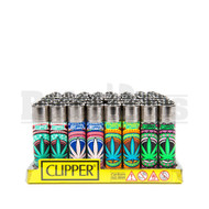 "CLIPPER LIGHTER 3"" ORIENTAL LEAVES ASSORTED Pack of 48"
