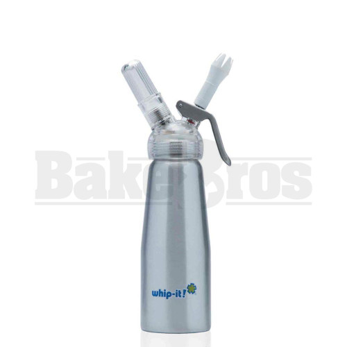WHIP-IT CREAM WHIPPER SILVER WITH TRANSPARENT HEAD Pack of 1 250 ML
