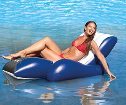 Intex Luxury Inflatable Swimming Pool Recliner Lounger (58868) *New Design for 2015!*