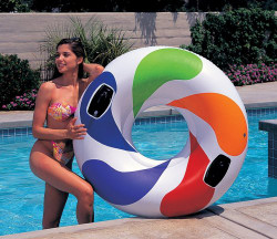 Intex Inflatable Colour Whirl Tube
