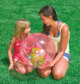 Pink Intex Childrens Inflatable Swimming Pool Aquarium Beach Ball