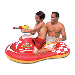 Inflatable wave attack Rider on swimming pool Toy