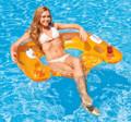 Intex Sit-N-Float Inflatable Pool Raft Chair Lounger (58859EU)