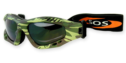 desert-shield green brown camo 2002 goggles