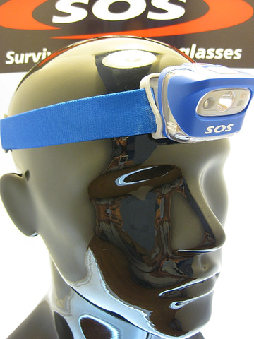 L55i headlamp blue
