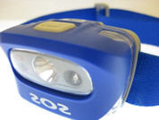 L55i headlamp blue front