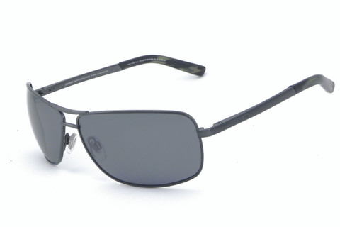 Konapepp with antique gunmetal frame and smoke flash mirror polarized lens